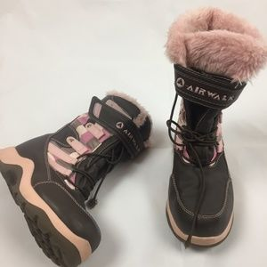 Airwalk Thermolite Fur Lined  Snow Boots  12